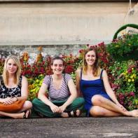 Vientiane Besties: Caro, Bella and me