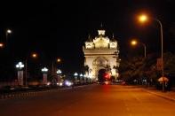 ...and Vientiane's landmark again: Patuxay
