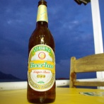 beerlao is often served in 1/2l bottles - too large for one person!