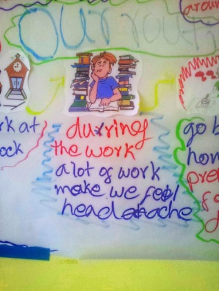 You just gotta love what my students come up with sometimes. Sounds like my Monday mornings...
