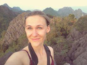 Happy mountain selfie :)