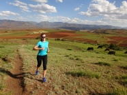 Some trailrunning around Malealea