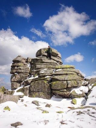 Some random boulder formation