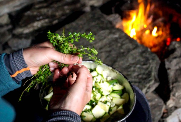 we used wild thyme in most of our dinners