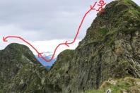 Fancy doing this ridge walk yourself? ;)