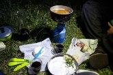 5* camping dinner