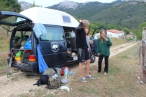 Sharing a Campervan to Andalusia, 2017