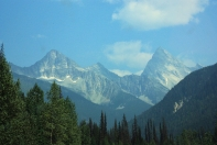 Banff Nationalpark, only a little smoky that day...