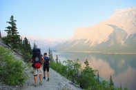 """Once you leave the carpark behind, you will barely meet other hikers in """"grizzly country""""."""