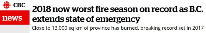 cbc news wildfires